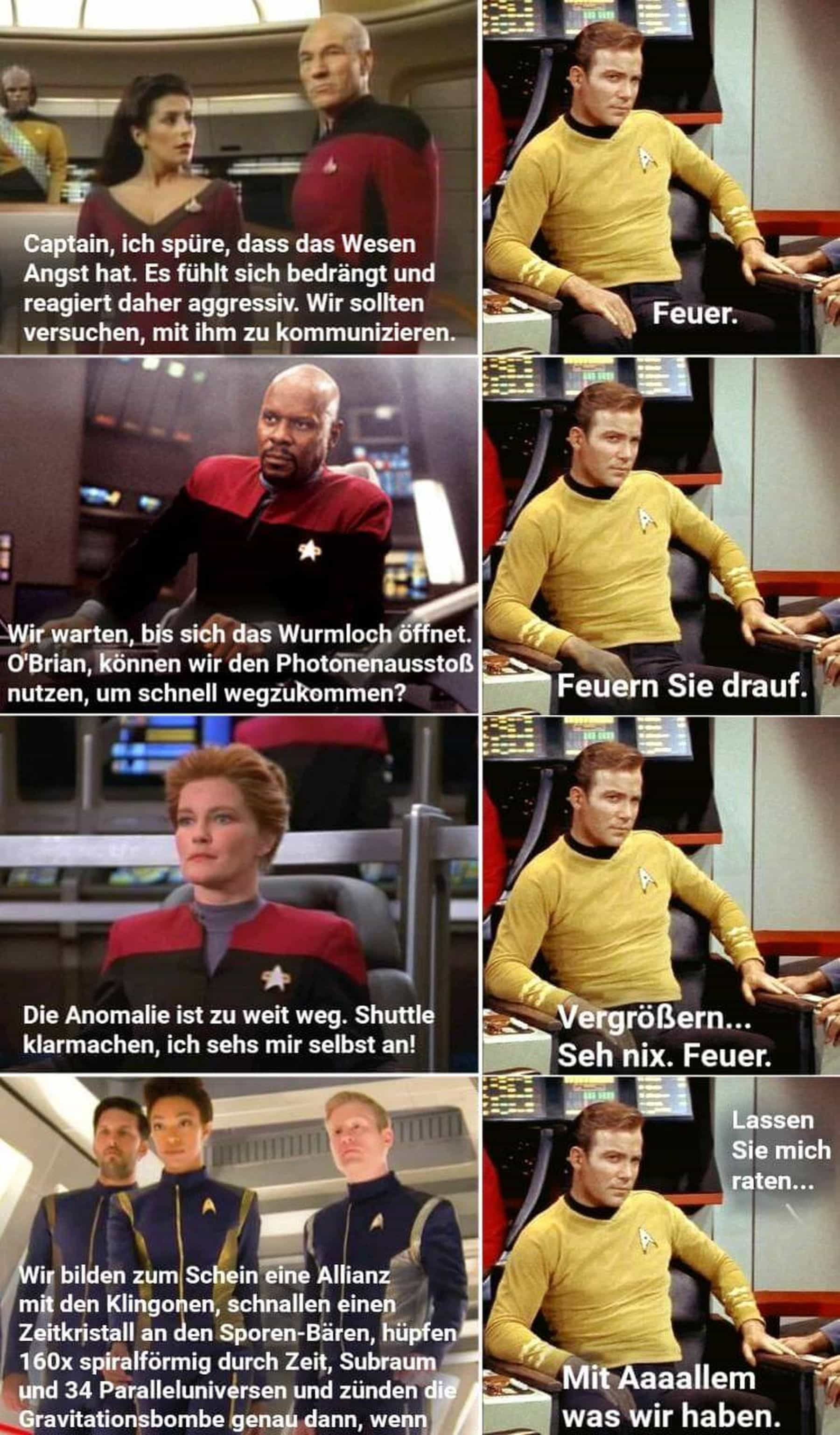 Star Trek in a nutshell | Lustiges | Was is hier eigentlich los?