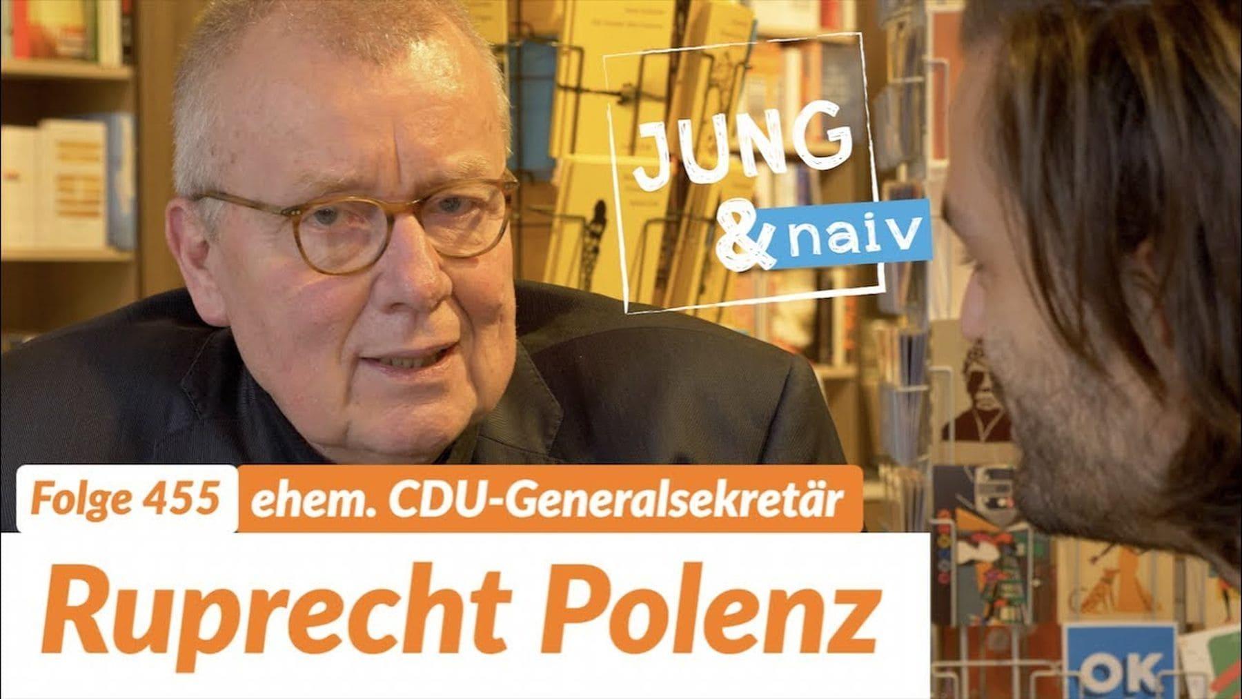 Der vielleicht einzig Gute in der CDU: Ruprecht Polenz | Menschen | Was is hier eigentlich los?