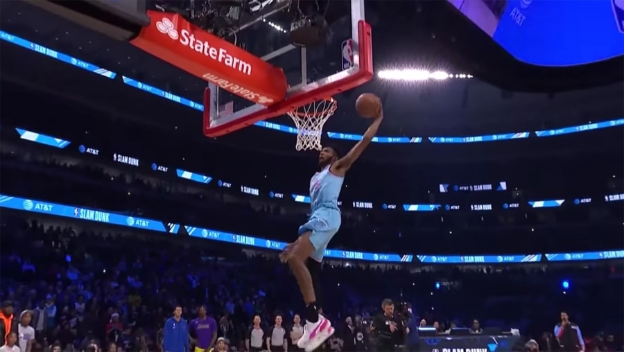 Die Highlights des Slam Dunk Contest 2020 | Awesome | Was is hier eigentlich los?