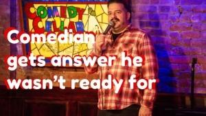 Ein Comedian und eine Antwort aus dem Publikum, mit der er nicht gerechnet hat | WTF | Was is hier eigentlich los?