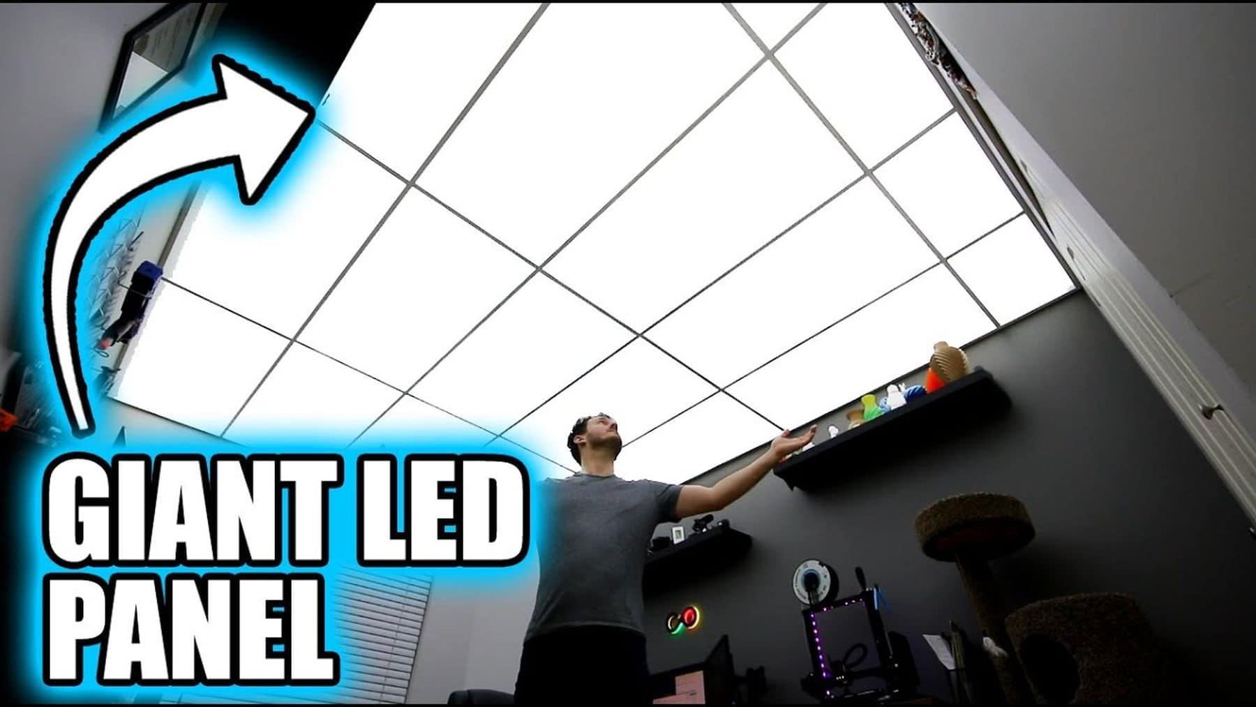 Eine komplett leuchtende Decke dank LED-Stripes | Handwerk | Was is hier eigentlich los?