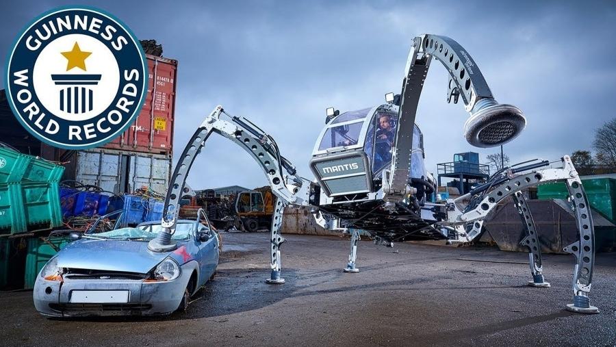 Eine riesige Roboter-Spinne zum Steuern | Gadgets | Was is hier eigentlich los?