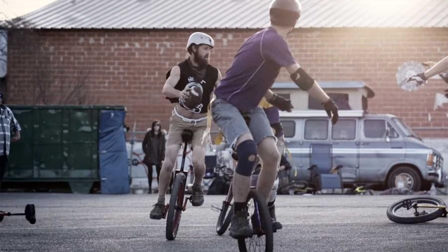 Einrad-Football | Awesome | Was is hier eigentlich los?
