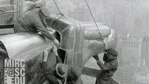 Aufnahmen vom Bau des Chrysler Buildings von 1929-1930 | Zeitgeschichte | Was is hier eigentlich los?