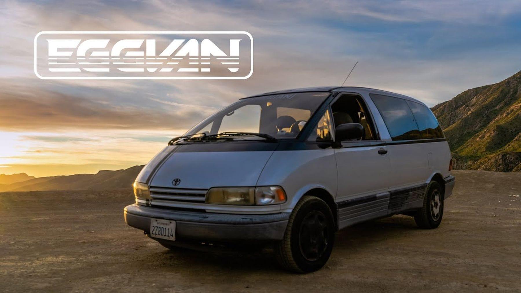Der Toyota Previa von 1991 – Der Egg-Van | Gadgets | Was is hier eigentlich los?