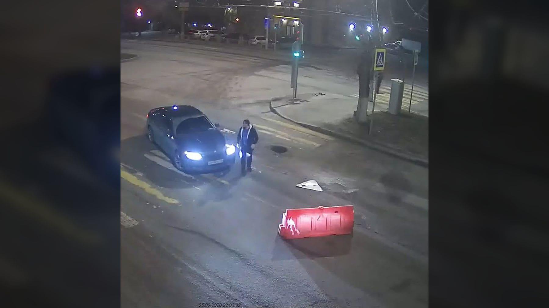 Eine Straßensperre in Wolgograd | Lustiges | Was is hier eigentlich los?