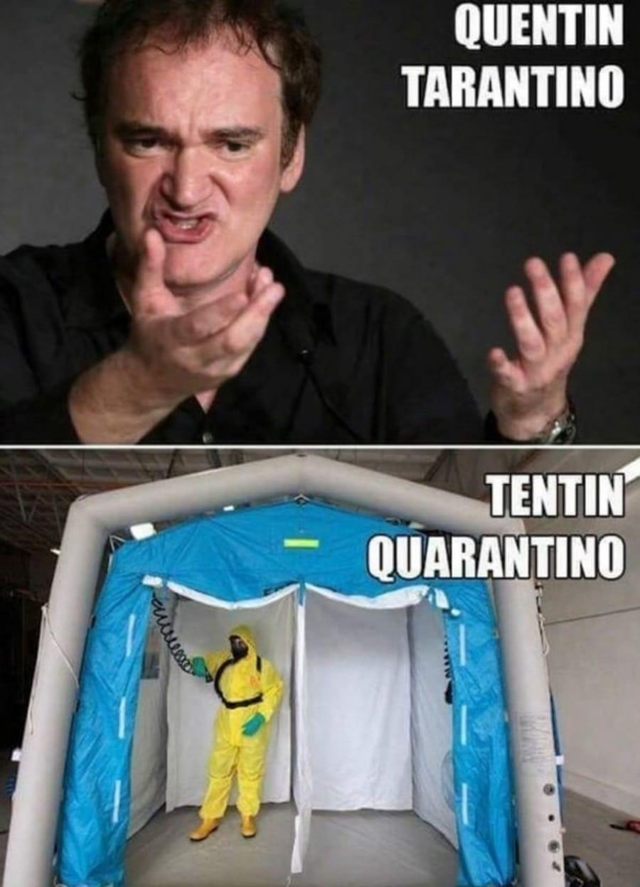 Flachwitz der Woche: Quentin Tarantino oder Tentin Quarantino | Lustiges | Was is hier eigentlich los?