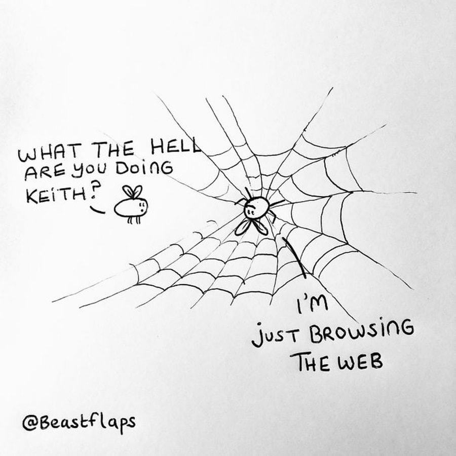 Großartige Doodles von BeastFlaps, die in unsinnigen Meetings entstanden | Design/Kunst | Was is hier eigentlich los?