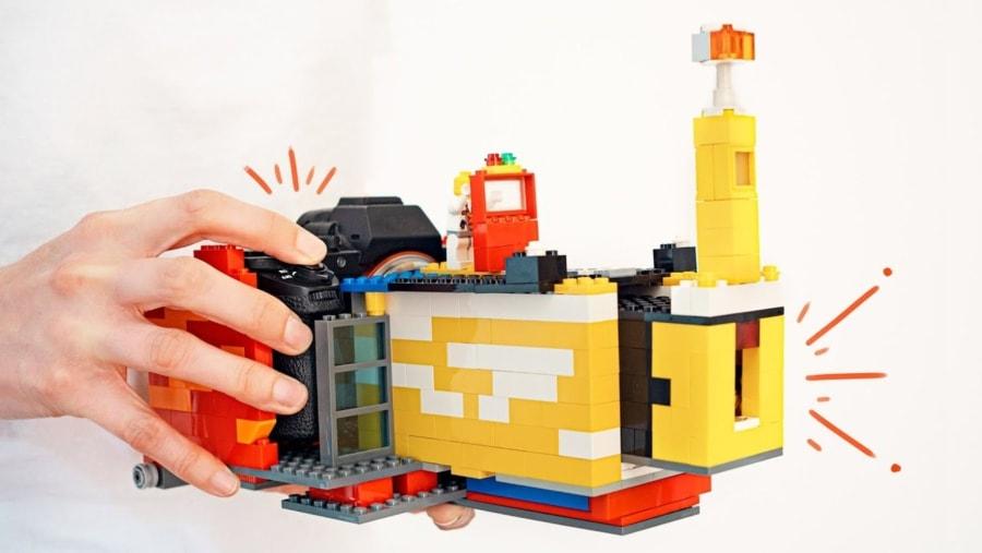 Ein Kamera-Objektiv mit Lego gebaut | Gadgets | Was is hier eigentlich los?