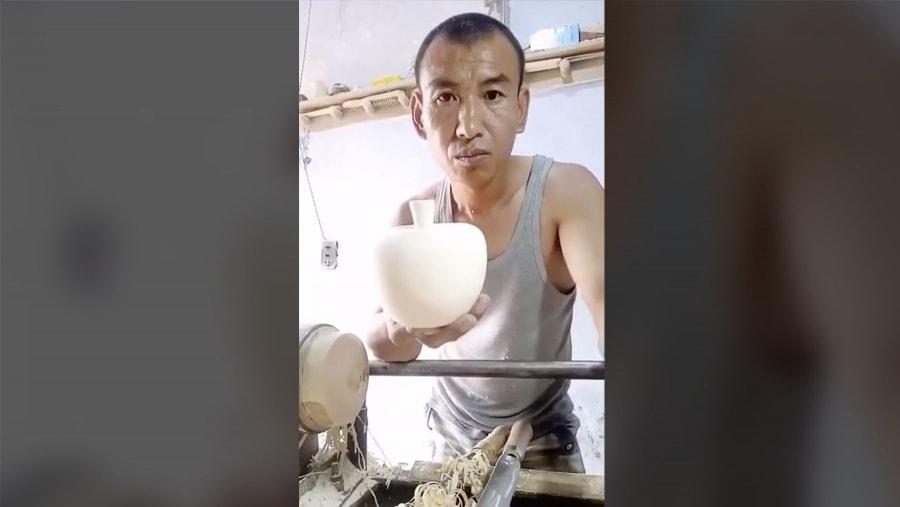 Wie man aus einem Stück Holz schnell eine Dose bastelt | Handwerk | Was is hier eigentlich los?