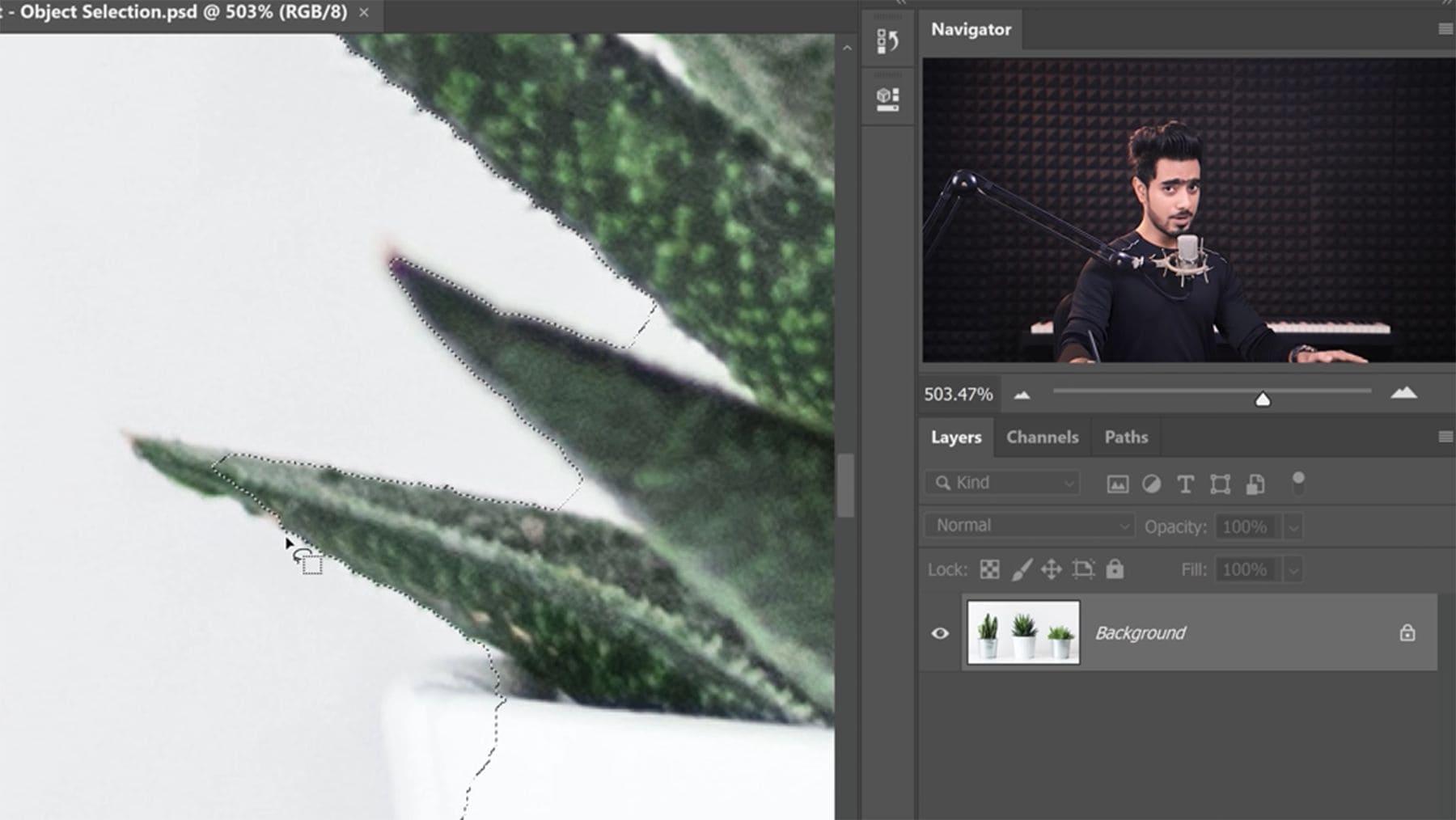 Wie man in Photoshop Objekte präziser auswählt | Nerd-Kram | Was is hier eigentlich los?
