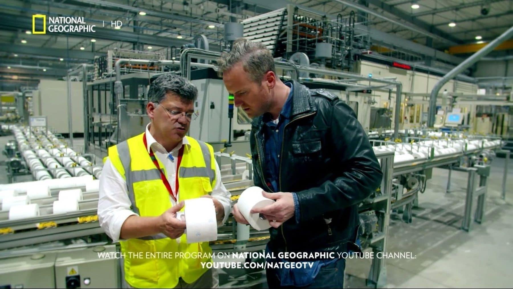 Wie Toilettenpapier hergestellt wird | Handwerk | Was is hier eigentlich los?