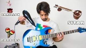 Eine Gitarre in andere Musikinstrumente verwandelt | Musik | Was is hier eigentlich los?