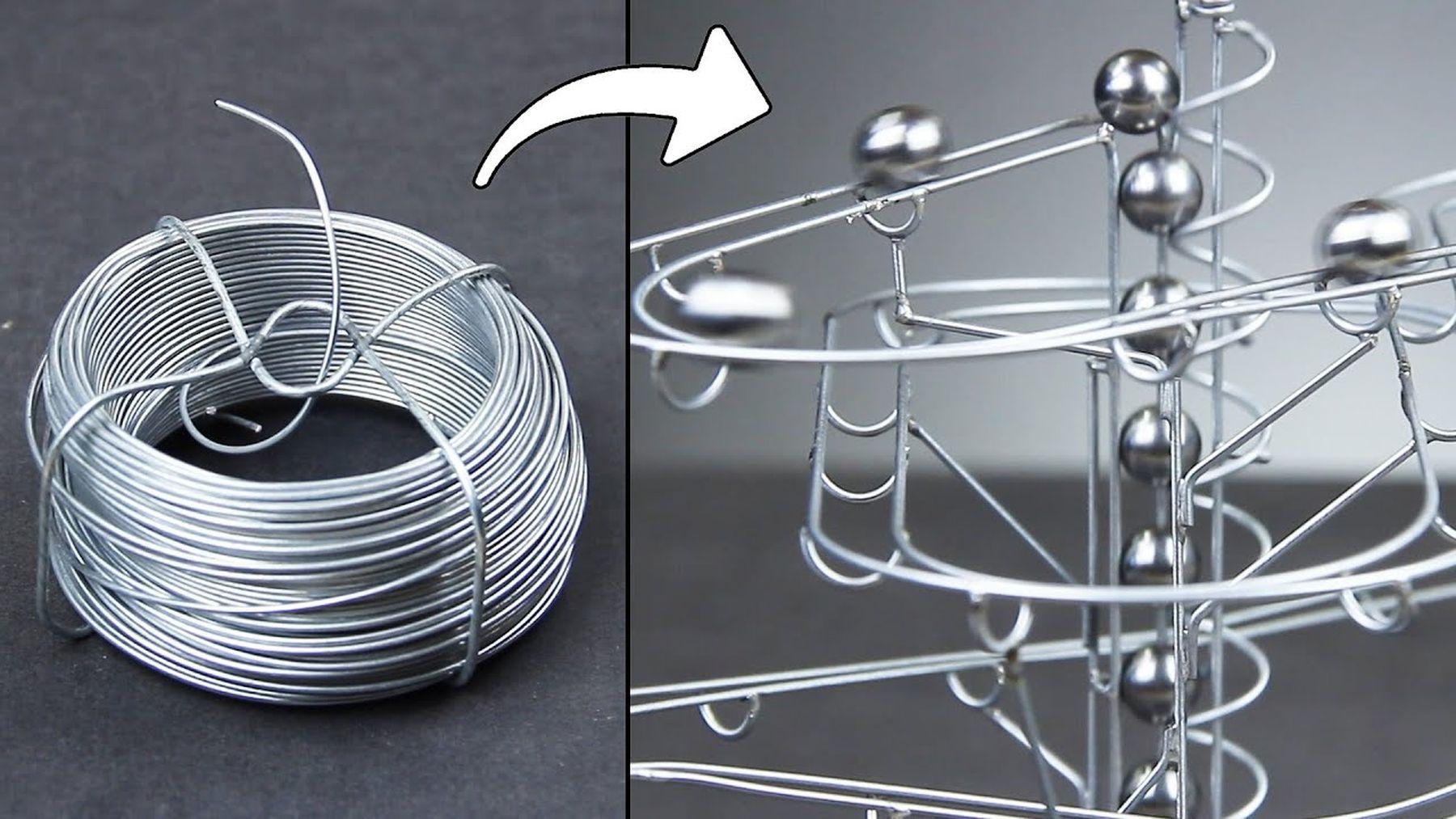 Eine Murmelbahn aus Stahldraht gebastelt | Handwerk | Was is hier eigentlich los?