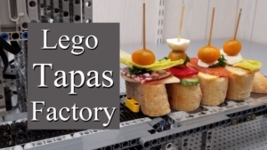 Eine vollautomatische LEGO-Tapas-Maschine | Gadgets | Was is hier eigentlich los?