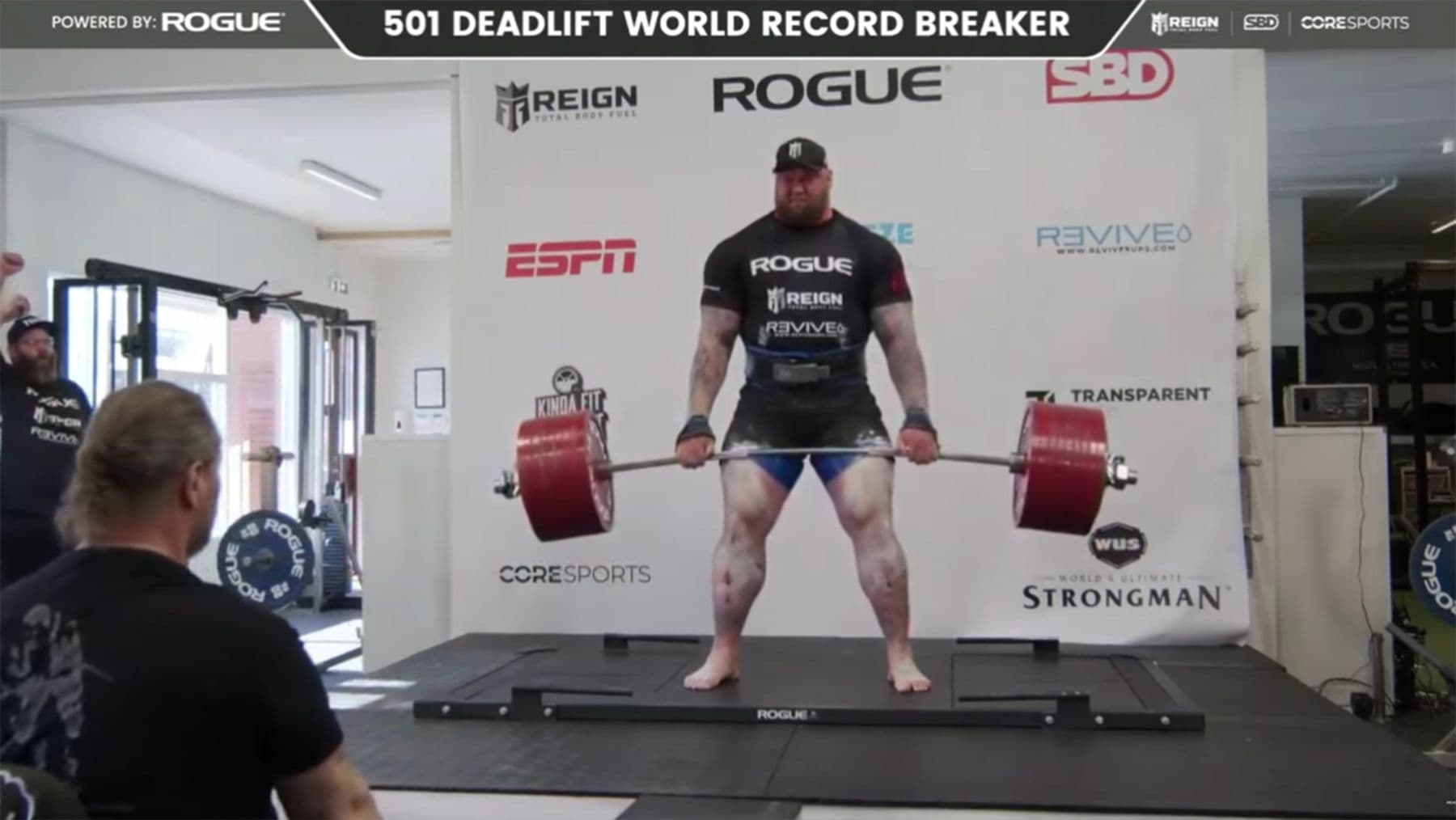 Hafþór Björnsson hebt mal eben 501 kg hoch | Awesome | Was is hier eigentlich los?