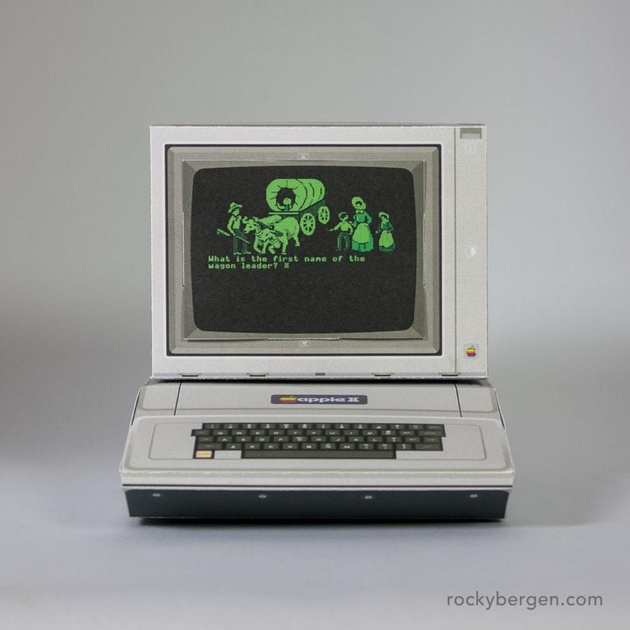 Rocky Bergen und seine Retro-Computer aus Papier | Design/Kunst | Was is hier eigentlich los?