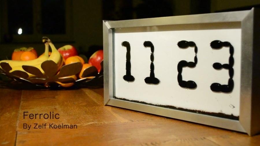 Eine ferrofluide Uhr | Gadgets | Was is hier eigentlich los?