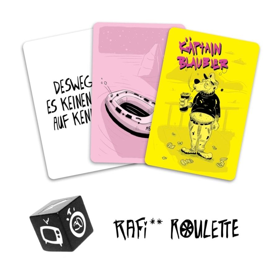 Rafi Roulette – Ein Spiel nicht nur für Dummschwätzer | Lustiges | Was is hier eigentlich los?