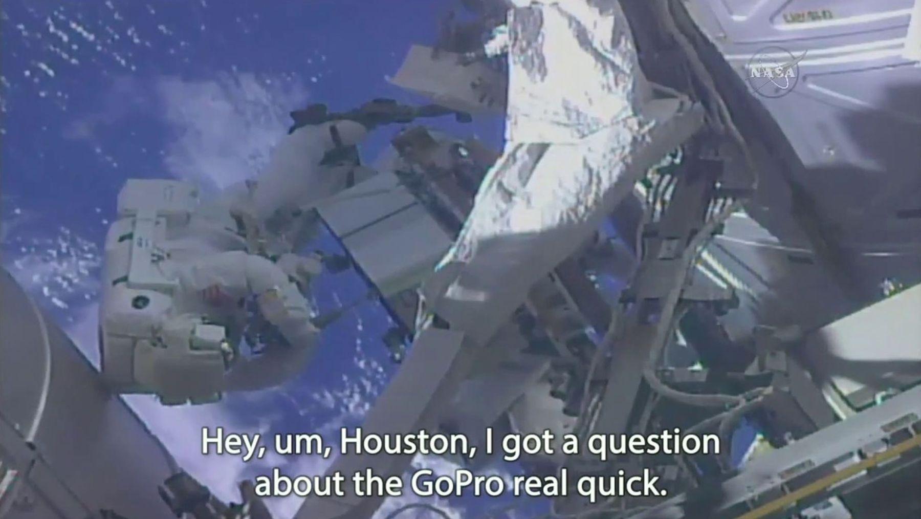 Wenn ein Astronaut so gar keine Ahnung von einer GoPro hat | Lustiges | Was is hier eigentlich los?