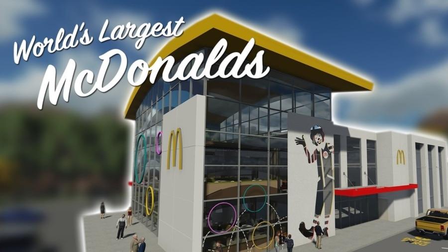 Ein Besuch im weltgrößten McDonalds-Restaurant | WTF | Was is hier eigentlich los?