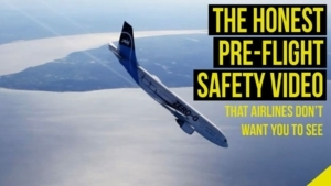 Endlich mal ehrliche Sicherheitshinweise im Flugzeug | Was gelernt | Was is hier eigentlich los?