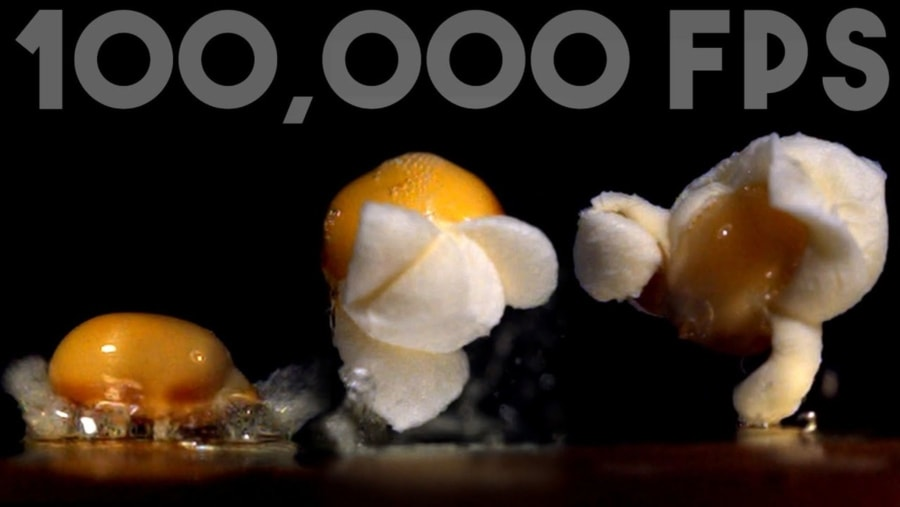 Noch mehr poppendes Popcorn in Slow Motion | Essen und Trinken | Was is hier eigentlich los?