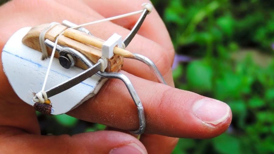 Nur eine kleine Armbrust für euren Finger | Gadgets | Was is hier eigentlich los?