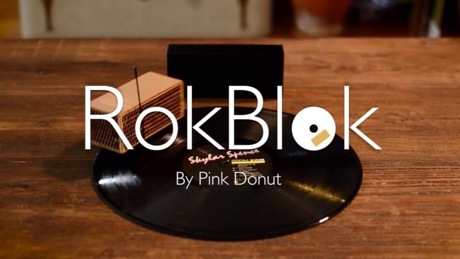 RokBlok – Der (vielleicht) kleinste Plattenspieler der Welt | Gadgets | Was is hier eigentlich los?