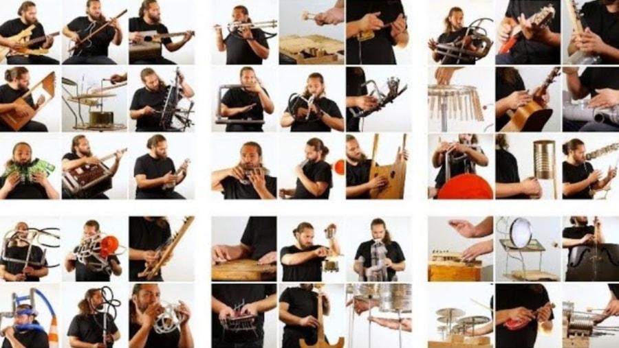 72 selbstgebaute Musikinstrumente | Gadgets | Was is hier eigentlich los?