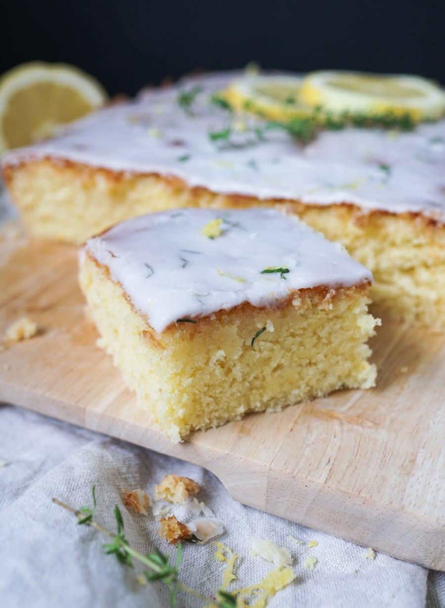 Line backt Zitronen-Ricotta-Kuchen mit Thymian | Line backt | Was is hier eigentlich los?