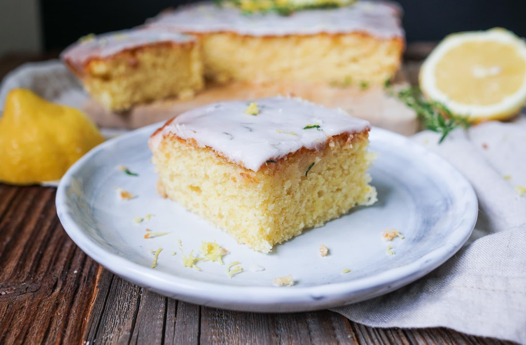 Line backt Zitronen-Ricotta-Kuchen mit Thymian   Line backt   Was is hier eigentlich los?