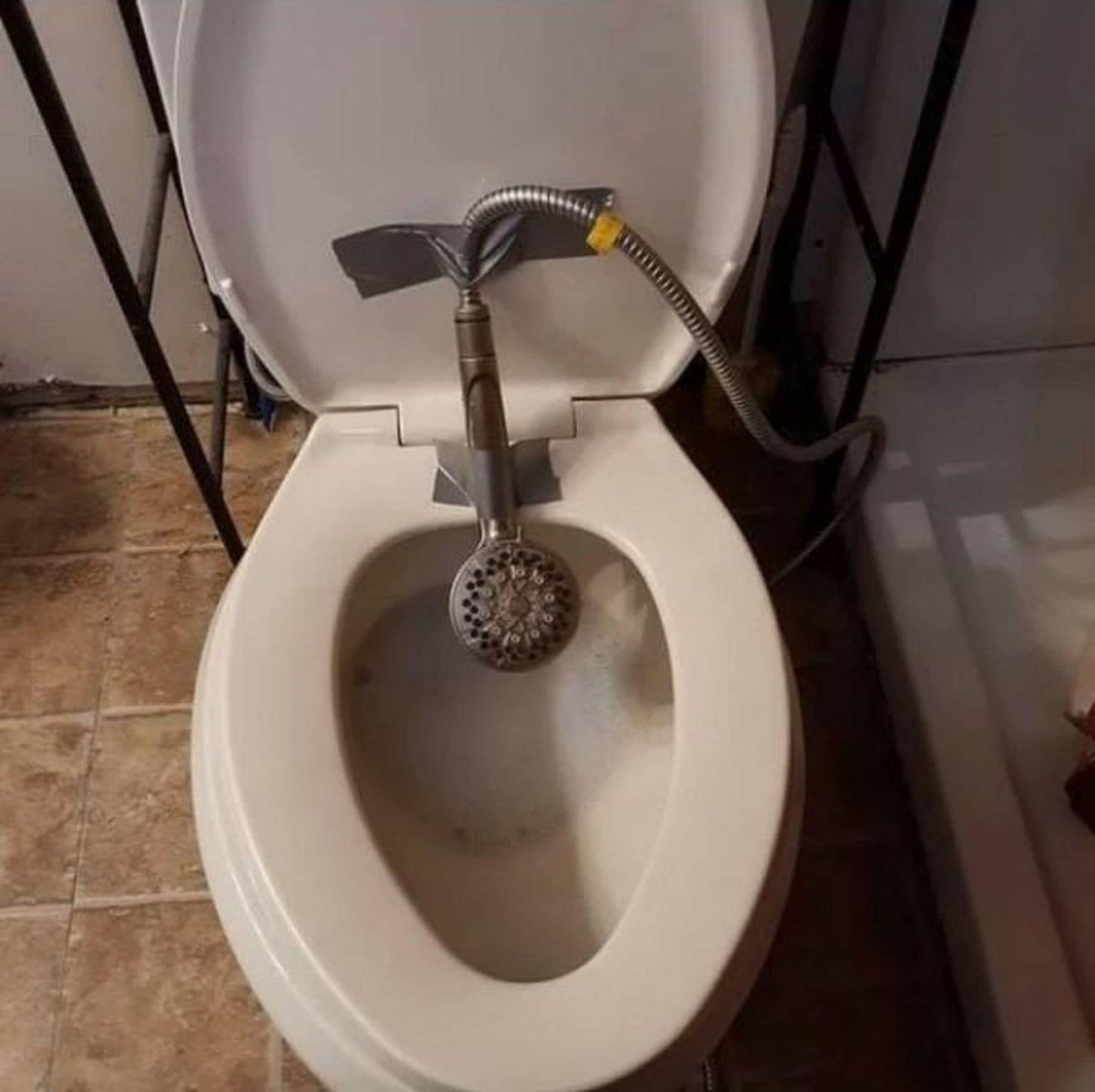 Dusch-WC Marke Eigenbau | Lustiges | Was is hier eigentlich los?