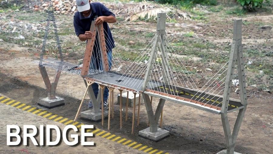 Eine Miniatur-Brücke im Nachbau | Handwerk | Was is hier eigentlich los?