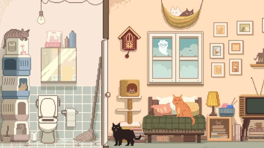 Kleines Point & Click-Adventure für zwischendurch: Six Cats Under | Games | Was is hier eigentlich los?