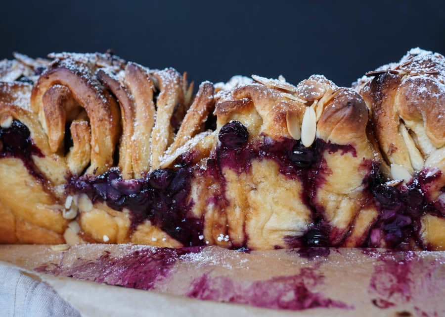 Line backt Very Berry Pull-Apart-Bread | Line backt | Was is hier eigentlich los?