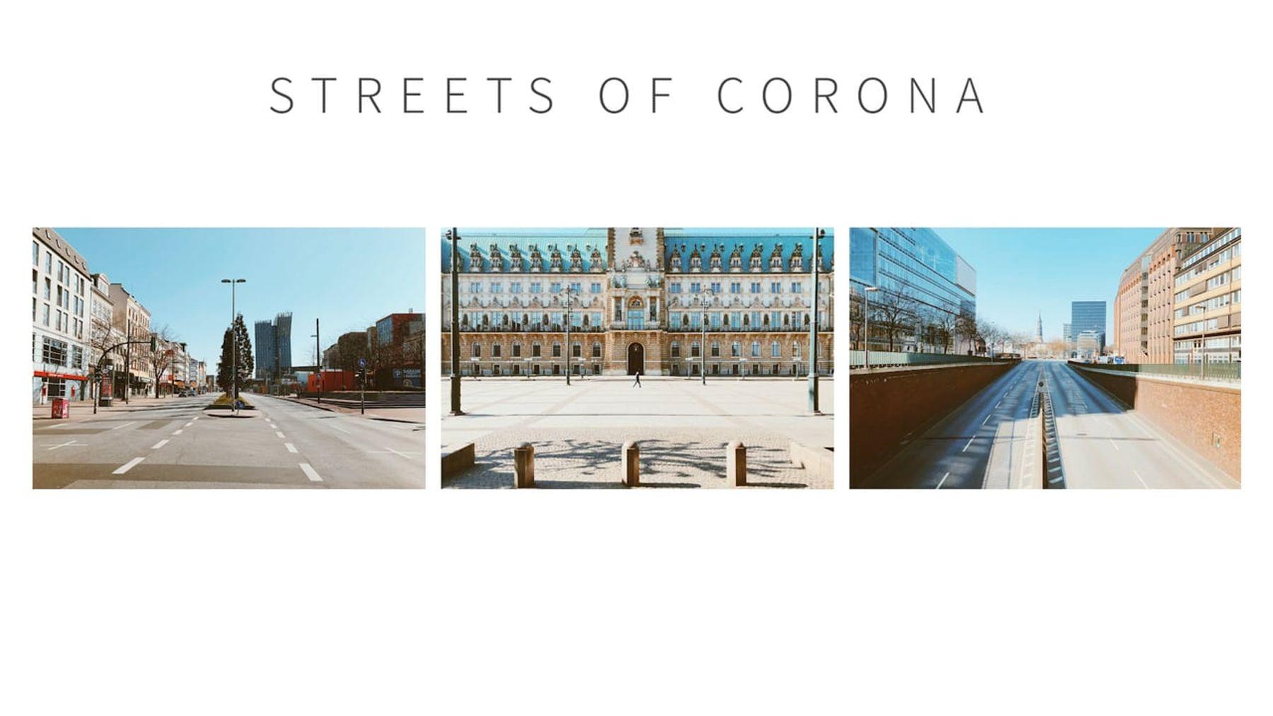 Streets of Corona – Bildband zu Hamburg Im Ausnahmezustand | Design/Kunst | Was is hier eigentlich los?