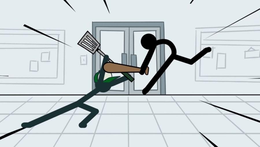 Wenn Strichmännchen sich prügeln | Animation | Was is hier eigentlich los?