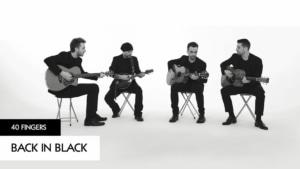 40 Fingers spielen Back in Black von AC/DC | Musik | Was is hier eigentlich los?