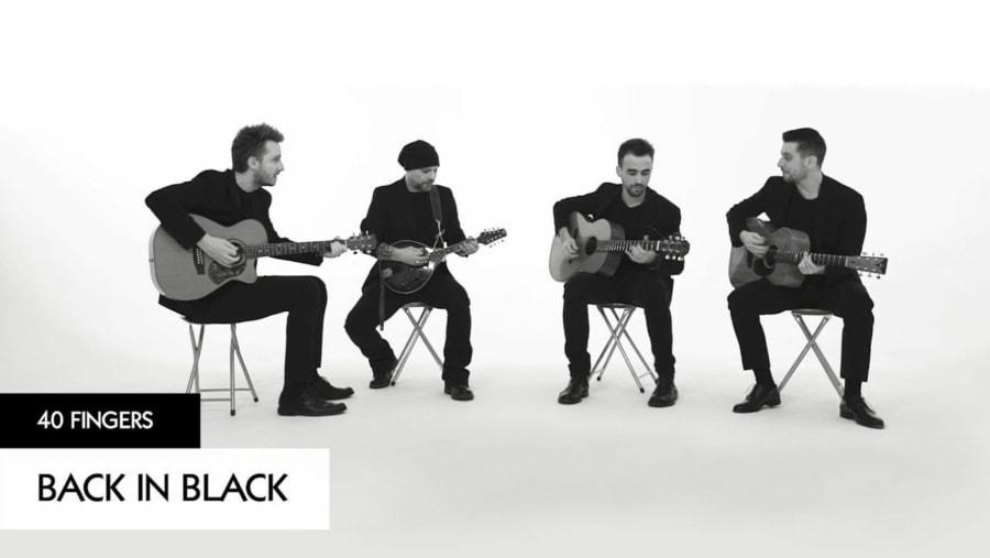 40 Fingers spielen Back in Black von AC/DC   Musik   Was is hier eigentlich los?