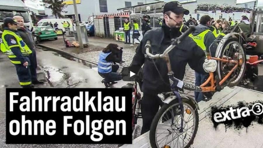 Leider wahr: Polizei gibt Hehlern offiziell geklaute Fahrräder zurück | WTF | Was is hier eigentlich los?