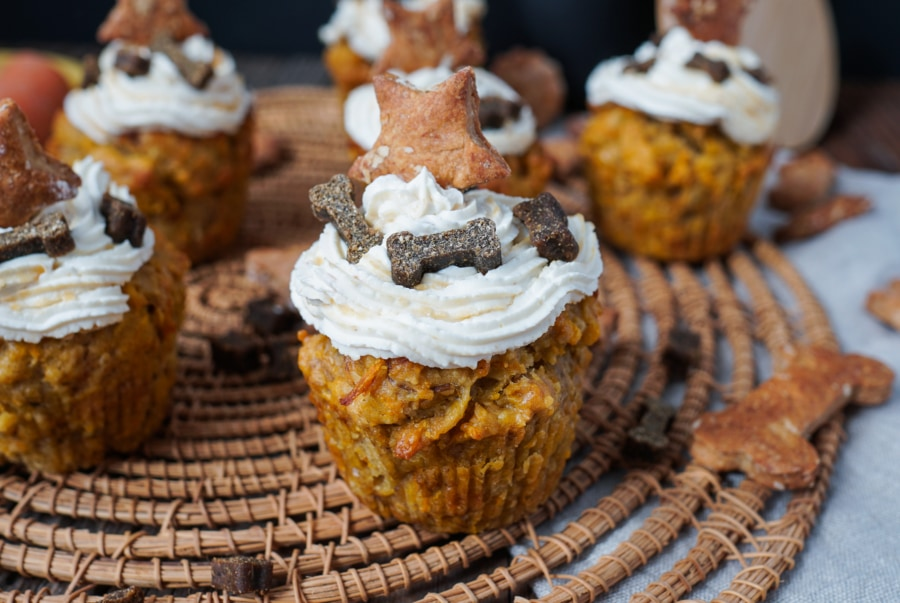 Line backt Pupcakes - Cupcakes für Hunde | Line backt | Was is hier eigentlich los?