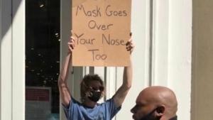 Noch mehr witzige Protestschilder vom