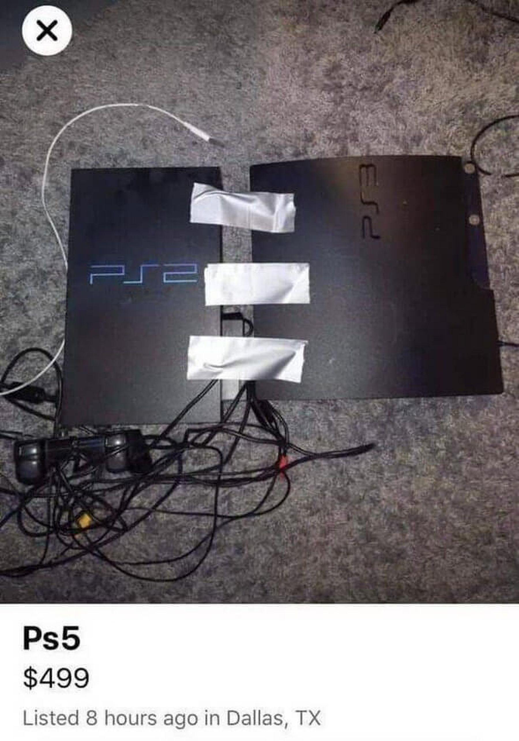Playstation 5 bereits erhältlich! | Lustiges | Was is hier eigentlich los?