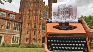 Schreibmaschinenkunst von James Cook | Design/Kunst | Was is hier eigentlich los?