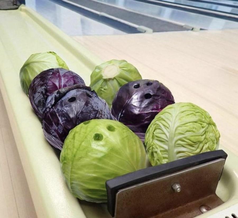 Veganes Bowling | Lustiges | Was is hier eigentlich los?