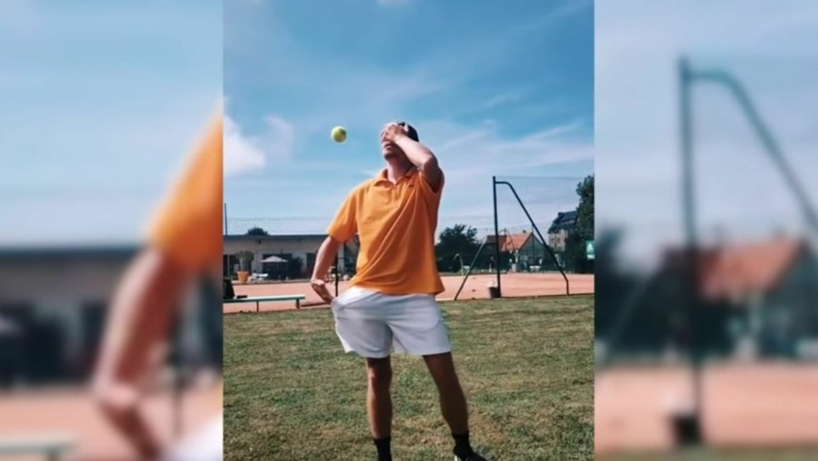 Coole Tennis-Trickshots | Awesome | Was is hier eigentlich los?