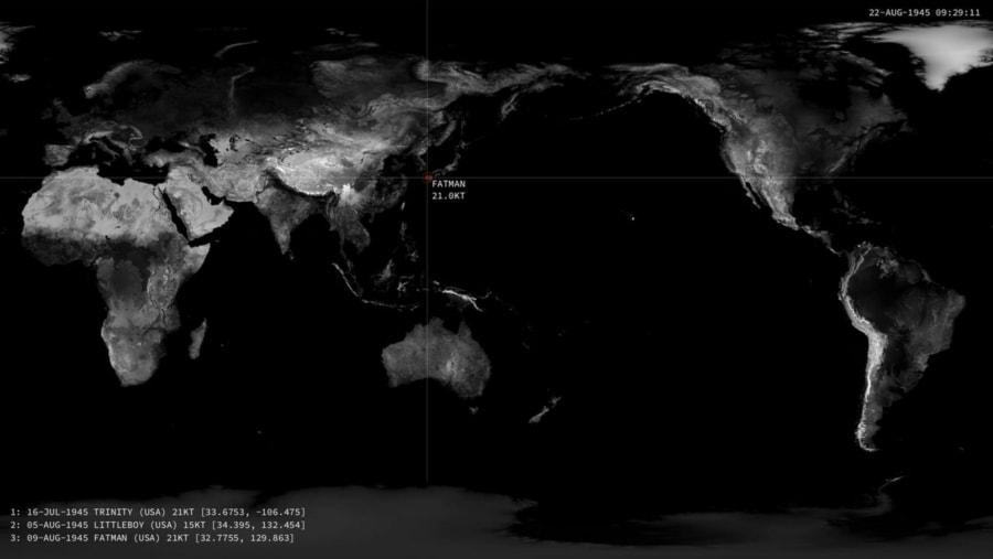 Jede nukleare Explosion seit 1945 | Zeitgeschichte | Was is hier eigentlich los?