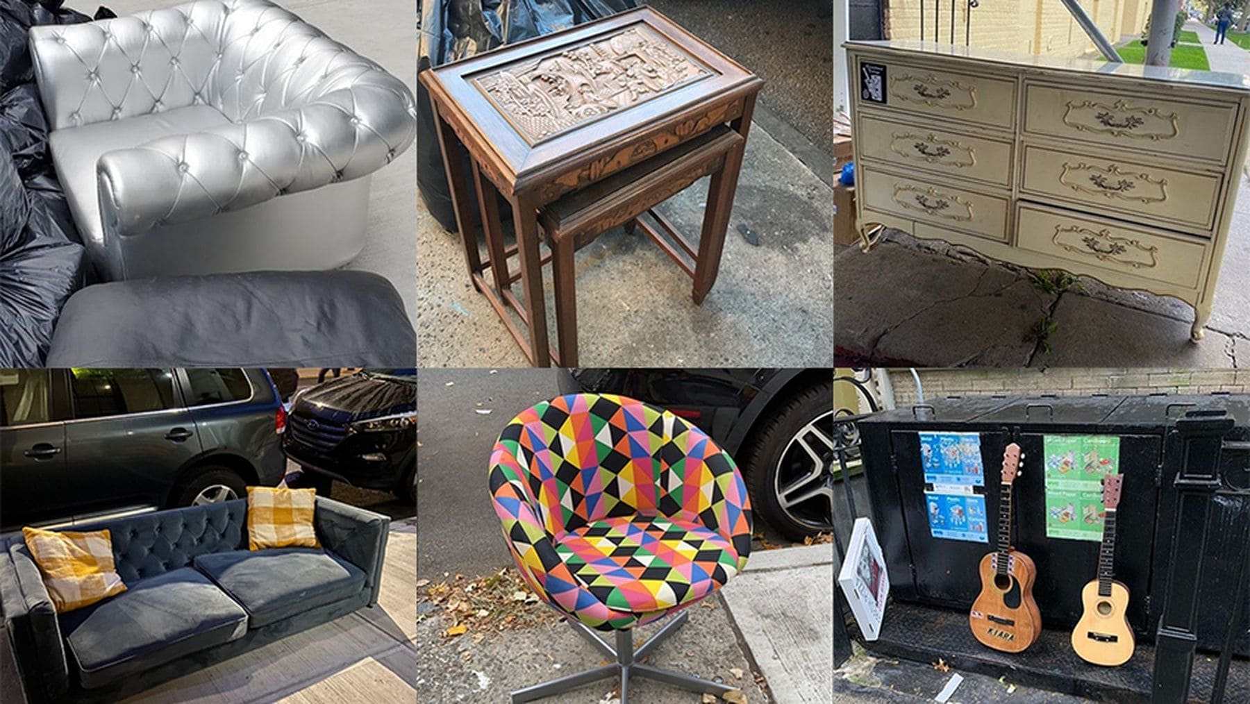 Was die Leute in New York alles auf die Straße werfen | Geschichten aus'm Alltag | Was is hier eigentlich los?