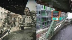 Eine Fahrt mit der Schwebebahn in Wuppertal – 1902 und 2015 nebeneinander | Zeitgeschichte | Was is hier eigentlich los?